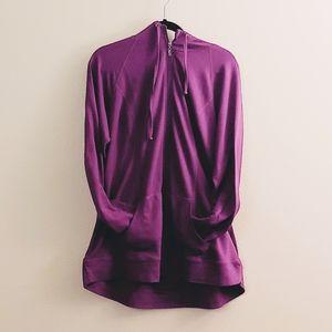 Torrid Active purple zip-up hoodie sz 3